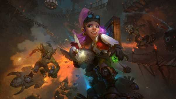 hearthstone, goblins vs gnomes, hearthstone heroes of warcraft