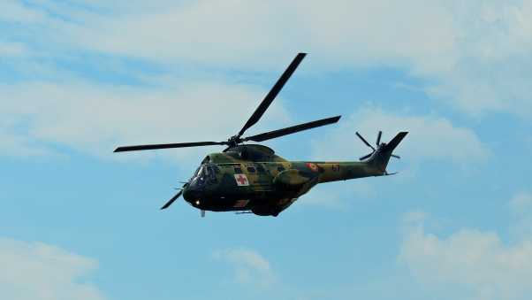 helicopter, military, aviation