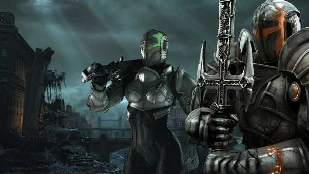 hellgate london, warriors, knights