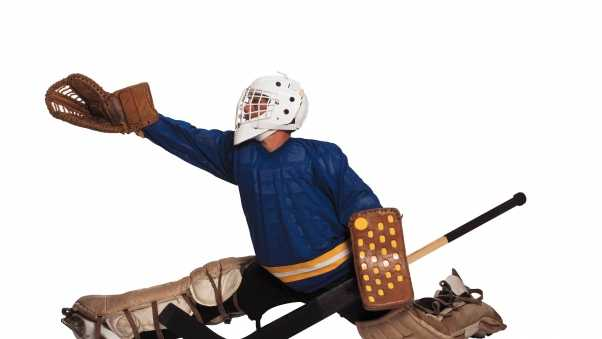 hockey, equipment,  white background
