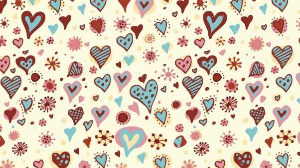 holiday, hearts, backgrounds