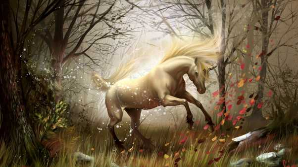 horse, wood, magic