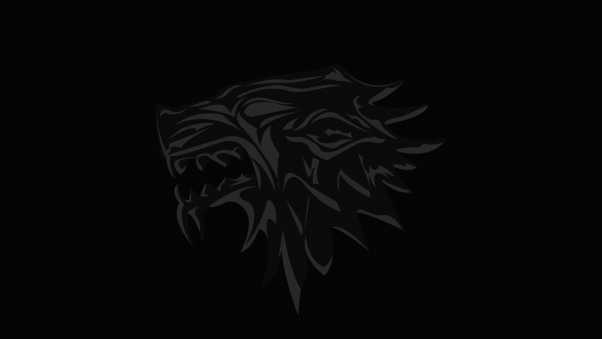 house of stark, game of thrones, logo