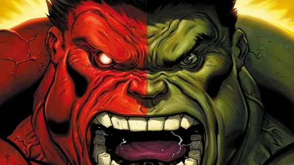 hulk, marvel comics, art