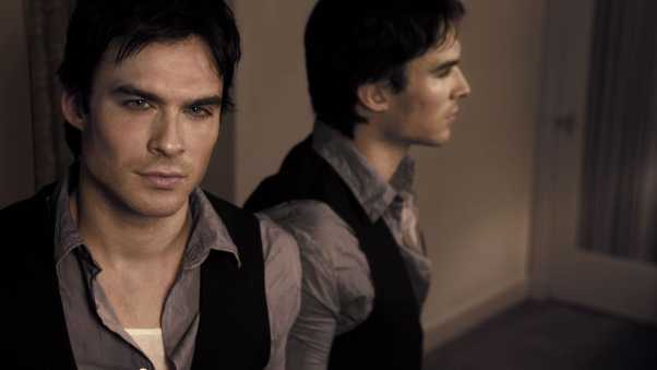 ian somerhalder, reflection, shirt