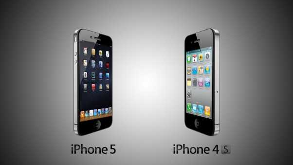 iphone 5 vs iphone 4s, iphone, technology