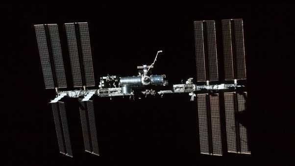 iss, space, solar cells