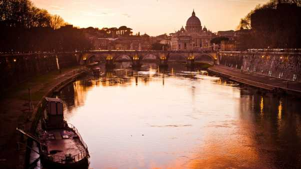 italy, rome, river