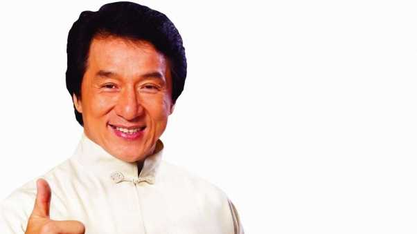 jackie chan, actor, white suit