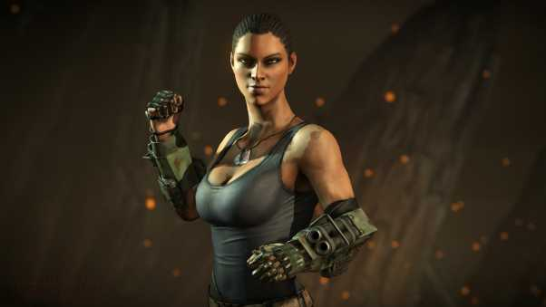 jacqui briggs, mortal kombat x, powered gauntlets