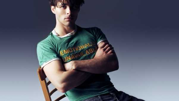 james marsden, brunette, shirt