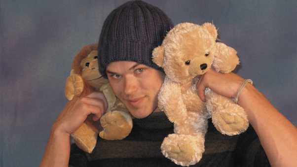 kellan lutz, dark-haired, toys