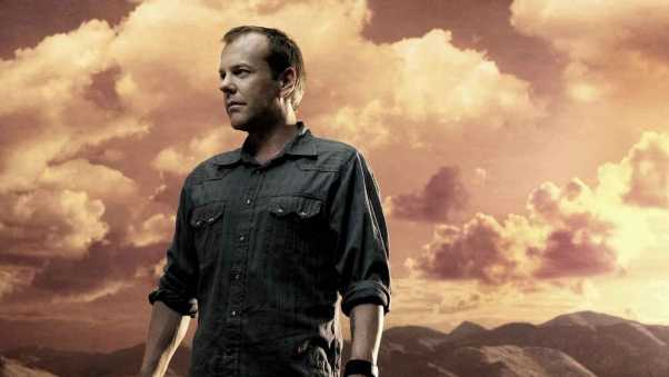 kiefer sutherland, mountains, weapons