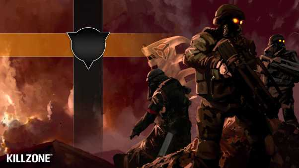 killzone, soldiers, flag