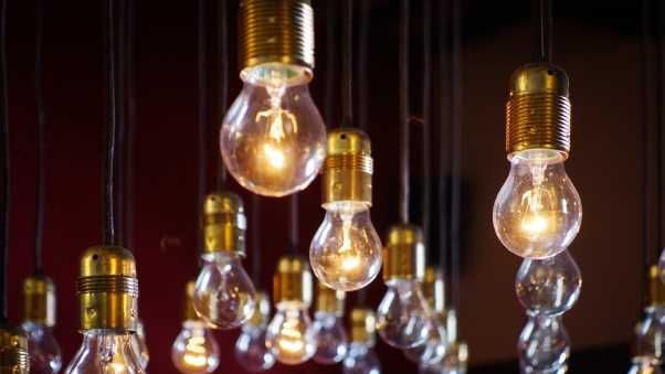 lamps, lighting, electricity