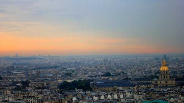 landscape, paris, panorama
