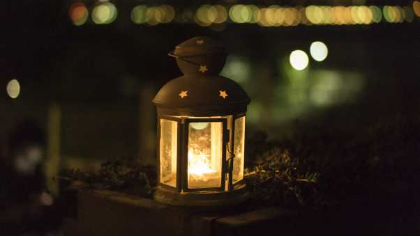 lantern, christmas, light