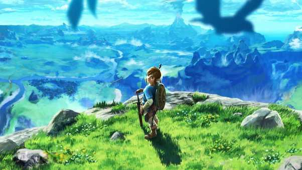 legend of zelda, breath of the wild, art