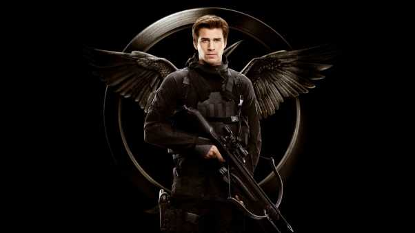 liam hemsworth, the hunger games, series