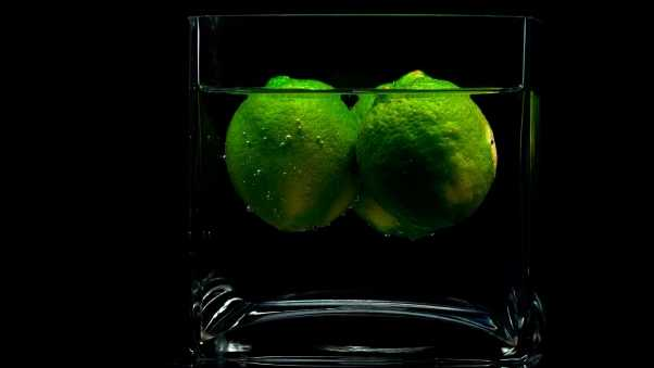 lime, glass, shade