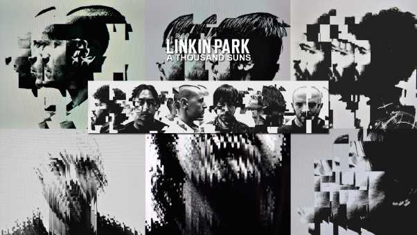 linkin park, graphics, members