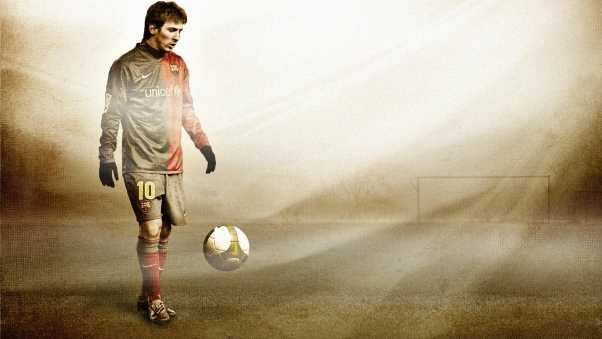 lionel messi, football, ball