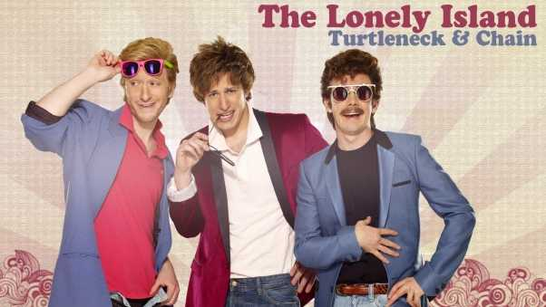 lonely island, background, glasses