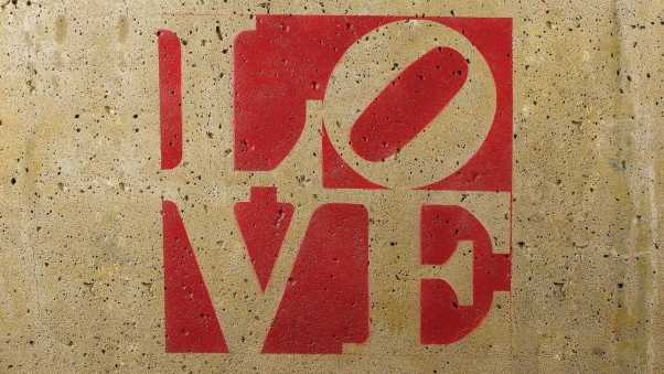 love, sign, background