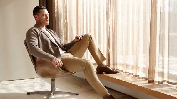 luke evans, actor, photoshoot