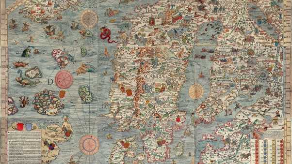 map, ancient, europe
