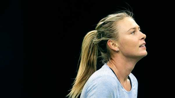 maria sharapova, tennis player, blonde