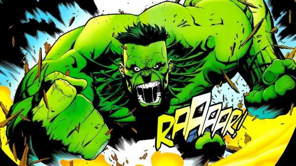 marvel comics, hulk, art