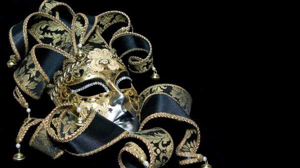 mask, masquerade, ribbons
