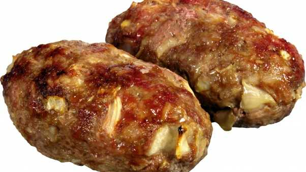 meatballs, minced meat, fried
