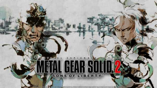 metal gear solid 2 sons of liberty, metal gear solid, stealth-action