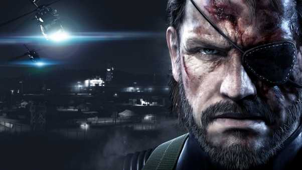metal gear solid v ground zeroes, metal gear solid v, art