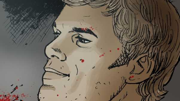michael c hall, vector, blood