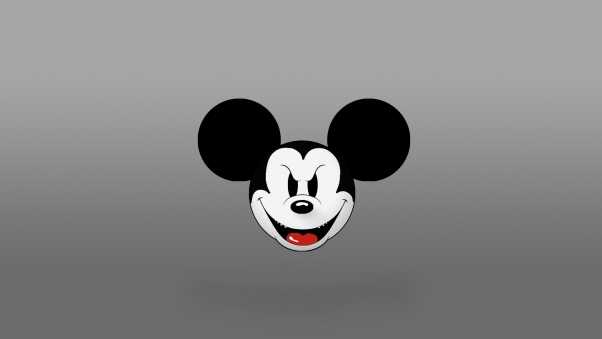 mickey mouse, malicious, ears