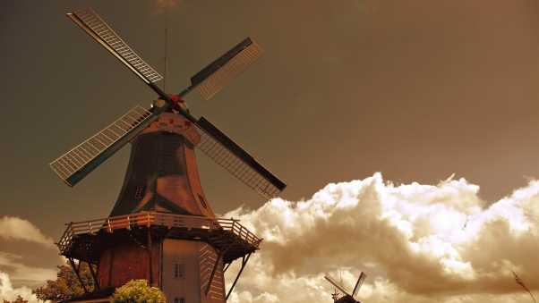mill, nature, production