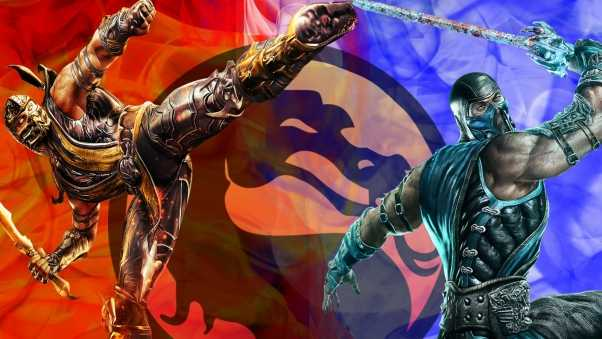 mortal kombat, battle, dragon