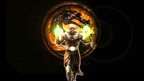 mortal kombat, character, dragon