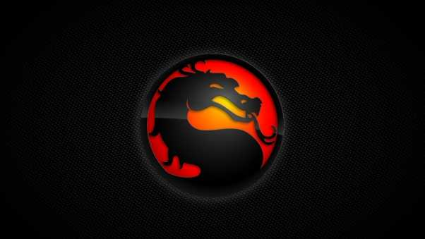mortal kombat, dragon, background