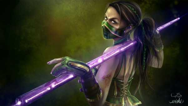 mortal kombat, jade, art