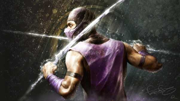 mortal kombat, rain, hero