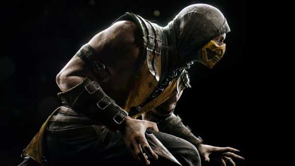 mortal kombat, scorpion, hero
