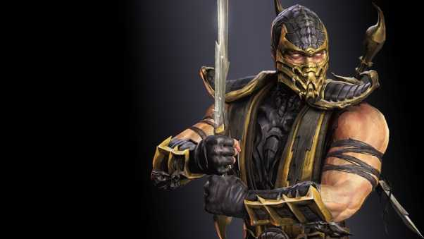 mortal kombat, scorpion, warrior