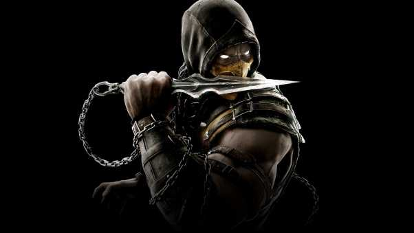 mortal kombat x, scorpion, equipment