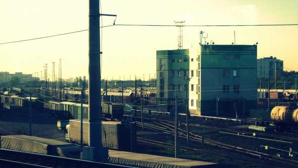 moscow, railroad, factories