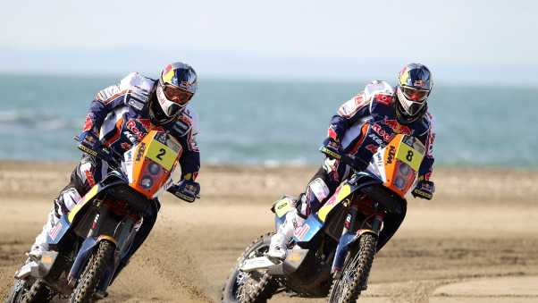 motorcycle, race, red bull