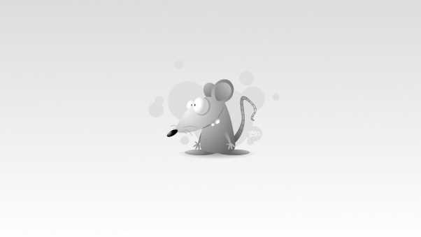 mouse, drawing, gray